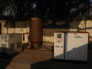 Air Compressor & Dryer-Infrastructural Facilities at EWE